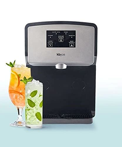 KBice Self Dispensing Countertop Nugget Ice Maker, Crunchy Pebble Ice Maker, Produces 30 lbs of Nugget Ice per Day, Sonic Ice Maker Machine