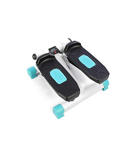 Grupo K-2 Wonduu Stepper para Ejercicios Cardio | Escaladora para Piernas y Glúteos | con Resistencia Ajustable, Monitor de Entrenamiento y Bandas de Resistencia | Azul