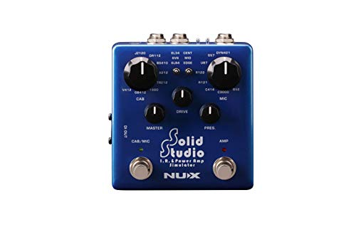 NUX NSS-5 Solid Studio I.R. and Power Amp Simulator Pedal