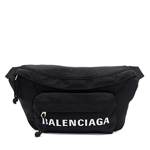 (バレンシアガ)BALENCIAGA WHEEL BELT PACK ナイロン ボディバッグ【ブラック】533009 HPG1X 1070 [並行輸...