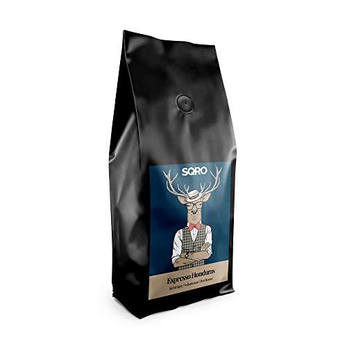 Espresso Bohnen 1 kg von 1Expresso   100% Arabica Kaffeebohnen aus Honduras (1000g)   Fairer Handel   säurearme, mittlere, handgeröstete Espressobohnen   Single Origin Espresso