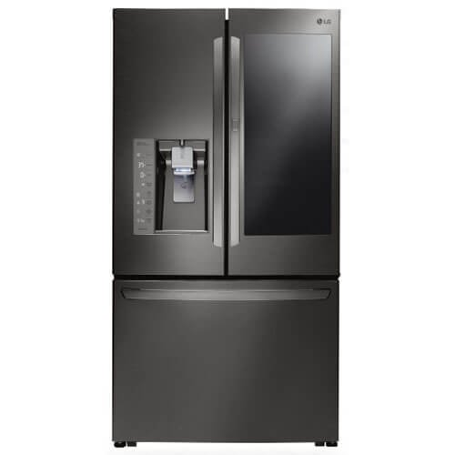 LG LFXC24796D / LFXC24796D / LFXC24796D 23.5 Cu. Ft. Black Stainless Counter-Depth French Door...