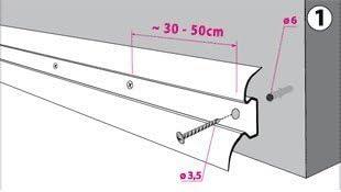 1 x Innenecke Eiche Andern 52mm zum Dekor Lamiat Dekore Laminatleisten Fussleisten aus Kunststoff PVC DQ-PP