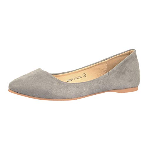 Top 10 best selling list for flat grey pointy shoes