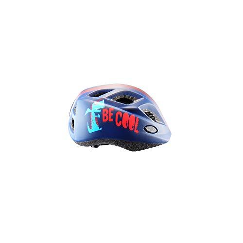 Polisport S Casque de vélo pour enfant avec gourde et support CE standard 52-56 cm Motif Be Cool