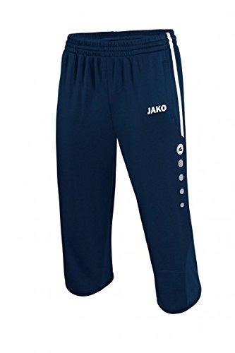 JAKO 3/4 Short D'Entraînement Active - Marine/Blanc, 128