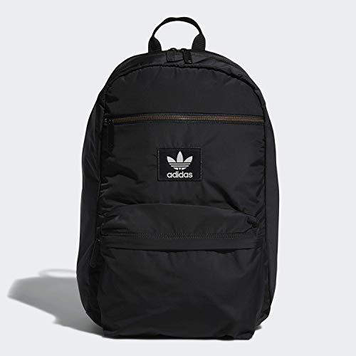 adidas Originals Unisex National Plus Backpack, Black, ONE SIZE