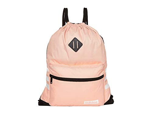 adidas Unisex Classic 3s Sackpack, Glow Pink/Schwarz (Pink) - 5149246