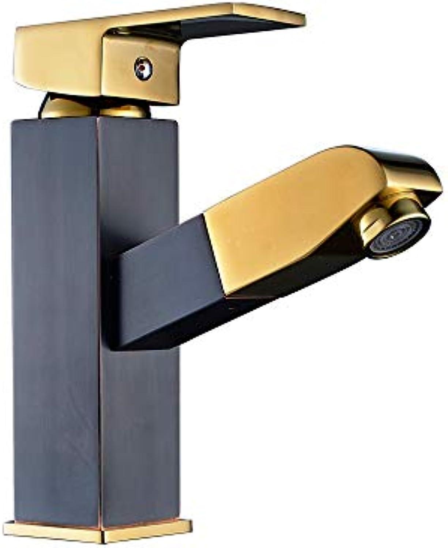Modenny Ziehen Sie Badezimmer-Becken-Mischbatterie festes Kupfer-Chrom-Hhne heier u