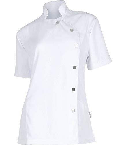 Teamwork Casaca Sanitaria para Mujer. Una Camisa 100% Poliéster