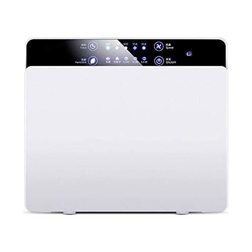 LKNJLL Purificador del Aire del hogar, Filtro de 28db Sistema Limpiador Desodorante, Zona Purificación Máquina W/HEPA, carbón y COV Filtros for alérgicos, Polvo y sin Virus de hogar y Oficina