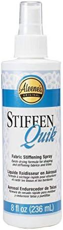 Aleene's 15581 Stiffen-Quick Fabric Stiffening Spray 8oz