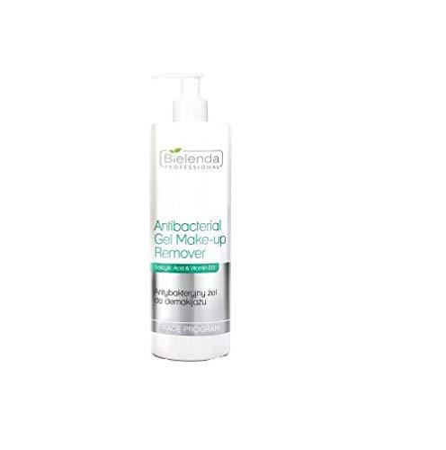 Bielenda Professional Antibacterial Gel Make-Up Remover - Antibakterielles Gesichts-Gel Make-up Entferner, 500ml