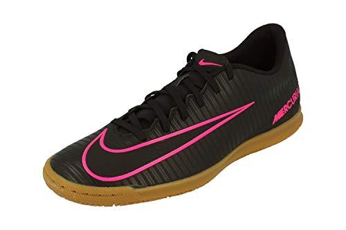 Nike Mercurialx Vortex III IC Hombre Botas de Futbol 831970 Soccer Cleats (UK 8 US 9 EU 42.5, Black Pink Blast 006)