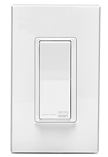 Leviton DW15S-1BZ Decora Smart Wi-Fi 15A Universal LED No Hub Required (10-Pack)