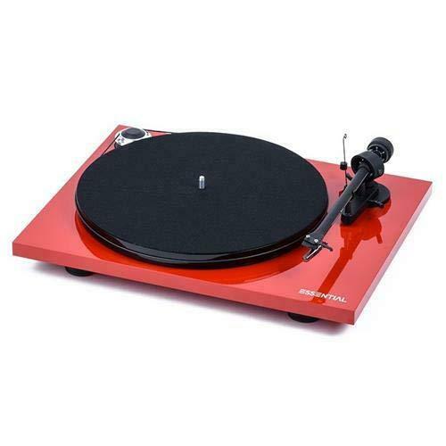 "Pro-Ject Essential III Bluetooth, Audiophiler ""Best Buy"" Plattenspieler mit Bluetooth Streaming (Rot)"