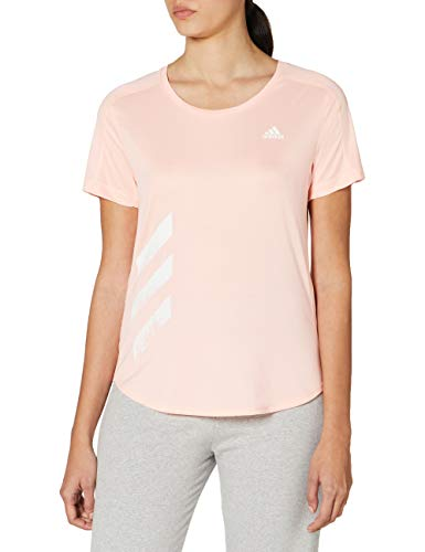 adidas Run IT tee 3S W Camiseta, Mujer, corneb, M