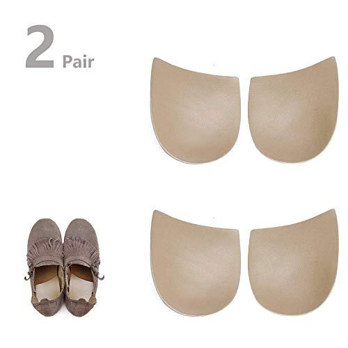 2 Paar Gel Hiel Orthopedische Inlegzolen - Supination & Pronation Correctieve Hiel Inlegzolen voor Voetuitlijning, Boeg Benen & O/X Type Been