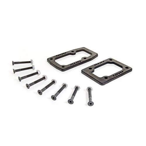 Carver Riserpads C7 Single Gasket Riser Kit (Black)