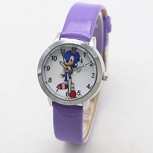 XIKA Sonic Gift Children Fashion Sonic Wristwatch For Boys Girls Gifts Simple Student Kids Watch Clock Relogio Kol Saati