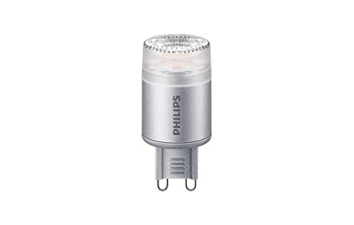 Philips CorePro LED à intensité variable Blanc chaud lumière capsule, gris, 2,3 W, G9, Synthétique, gris, G9, 2.3W 240V