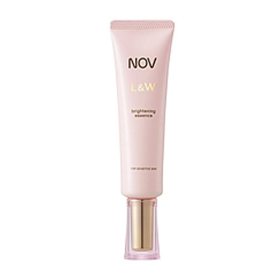 犯罪一口混乱したNOV L&W  ブライトニングエッセンス(医薬部外品)<30g>