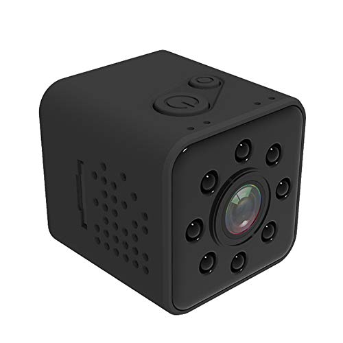 Carrfan Quelima SQ23 Mini Telecamera WiFi 1080P FHD Car Dash Cam Sports DV Registratore DVR per Auto IR Night Vision Video per Veicolo Home Office Videocamera