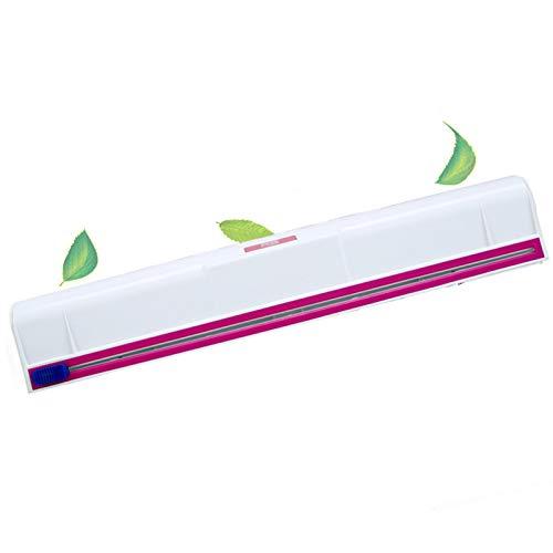 COOKSTYLE Folienschneider/Folienspender, für Frischhalte- und Alufolie, glattes Abtrennen, weiß