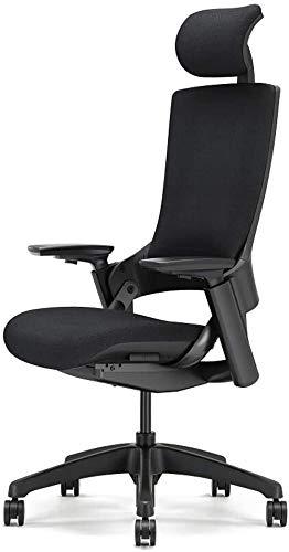 XINHUI Silla de Oficina Ejecutiva Ergonómica Ajustable, Tela de Malla de rotación de 360 Grados High Back E-Sports Computer Juego Silla