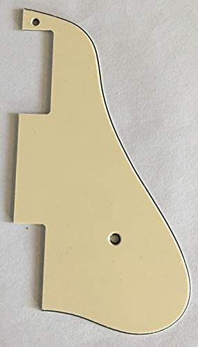 Custom For Epiphone ES-339 Style Electric Guitar Pickguard (3 Ply Vintage Yellow)