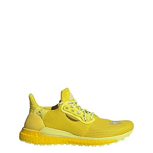 adidas PW SOLARHU GRYSCALE - Zapatillas de correr para hombre, color amarillo, color Amarillo, talla 39 1/3 EU