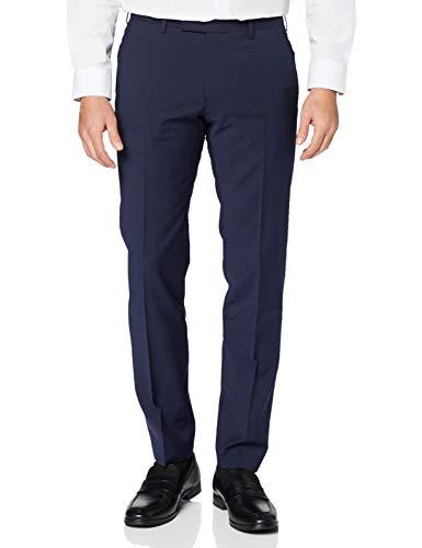BUGATTI Anzughose Pantaloni Eleganti, Blu (Blau 47), 50 Uomo