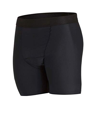 PJ PAUL JONES Mens Athletic Swimming Briefs Denim Looking Swimwear Surf Briefs Dark Gray M