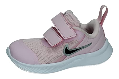 Nike Star Runner 3, Zapatillas Deportivas Unisex niños, Pink Foam Black, 21...
