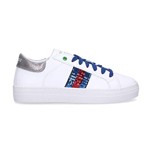 WOMSH Sneakers Donna S280606 Pelle Bianco