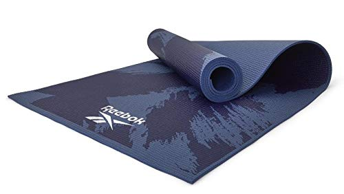 adidas Reebok RAYG-11030BR - Esterilla de yoga y fitness (4 mm), color azul
