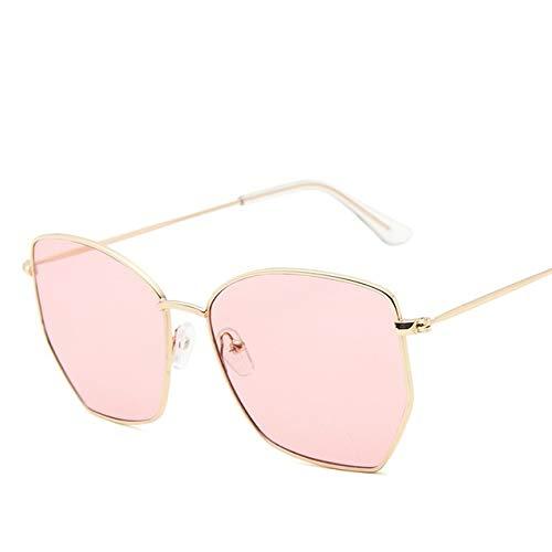 Gafas De Sol Con Montura Metálica Para Mujer, Gafas De Sol A La Moda Para Hombre, Anteojos Con Luz Azul, Sombras Uv400