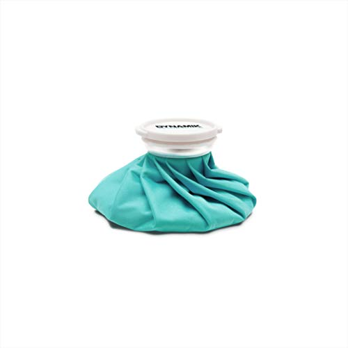 Petite poche à glace - poche réutilisable pour chaud/froid - soulage la douleur en cas de blessure sportive/réduit les gonflements - 17 cm de Dynamik Products