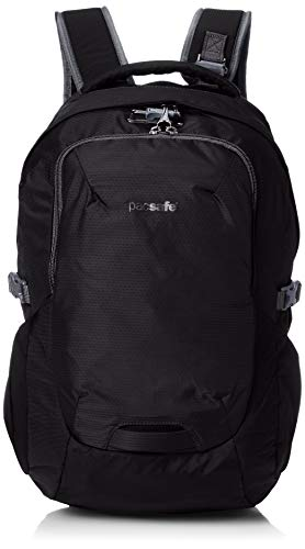 Save %40 Now! Pacsafe Venturesafe G3 25 Liter Anti Theft Travel Backpack/Daypack-Fits 15 Laptop, Bl...