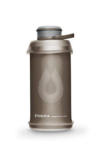 Hydrapak Stash Borraccia comprimibile 750 ml, Unisex-Adult, Mammoth Grey