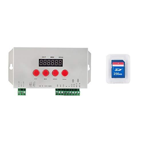 NZYMD Programmierbare LED Kontrolleinheit Regler DC5-24V kompatibel UCS1903 1909 TM1803 1804 SM16703 WS2811 2812 WS2815 2818 INK1003 LX3203 1603 1103