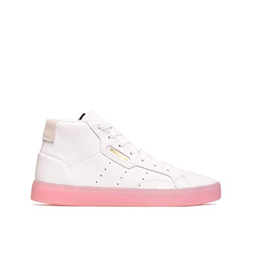 Adidas ORIGINALS Adidas Sleek MID W Sneaker Damen Weiss - 40 - Sneaker High