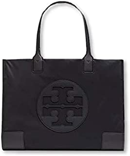 Tory Burch Womens Ella Tote Bag, Black