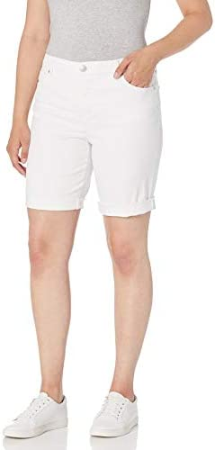 Gloria Vanderbilt Women s City Short with Rolled Cuff Vintage White 12 product image