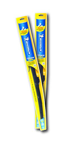 """Michelin 8521 Stealth Ultra Windshield Wiper Blade with Smart Technology, 21"""" (Pack of 2)"""