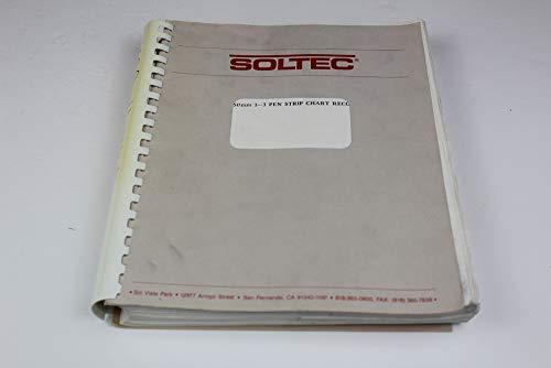 Soltec 1241,1242,1243 250mm 1-3 Pen Strip Chart Recorders Operator Manual
