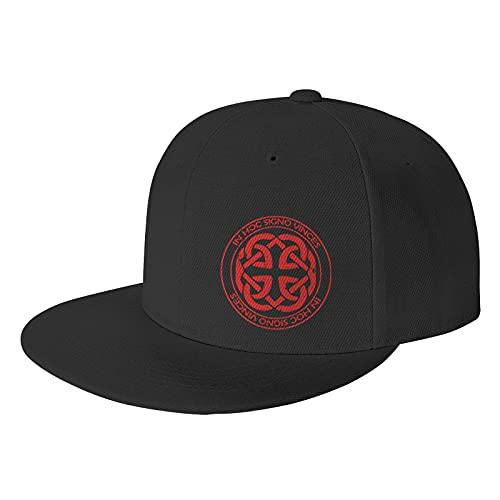 Celtic Knot Fatherhood Baseball Caps with Fashionable Pattern Black