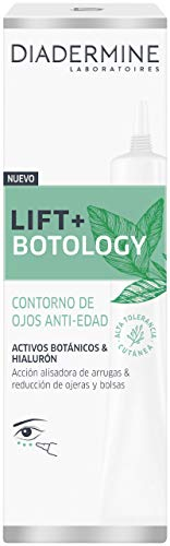 Diadermine - Lift+ Botology Contorno de Ojos, 15 ml, Acción alisadora de arrugas & reducción de ojeras y bolsas