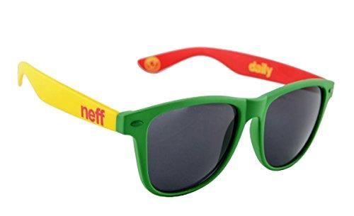 Neff Herren Sonnenbrille Daily rasta spray