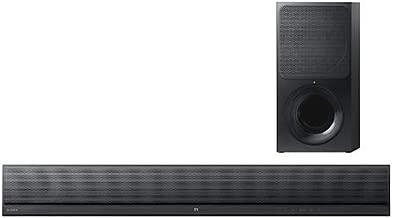 Sound Bar com Subwoofer wireless, Sony HT-CT390, Preto, Médio